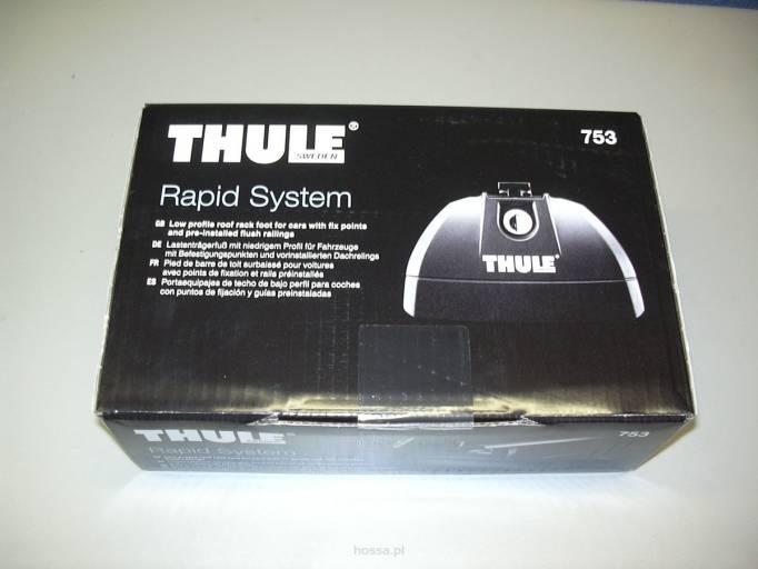 stopy thule rapid system 753 sklep baga niki dachowe baga niki rowerowe a cuchy niegowe. Black Bedroom Furniture Sets. Home Design Ideas
